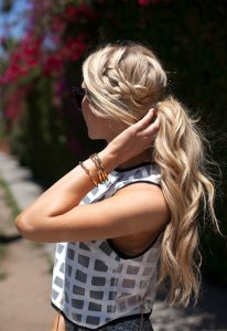 Wavy Braided Pony
